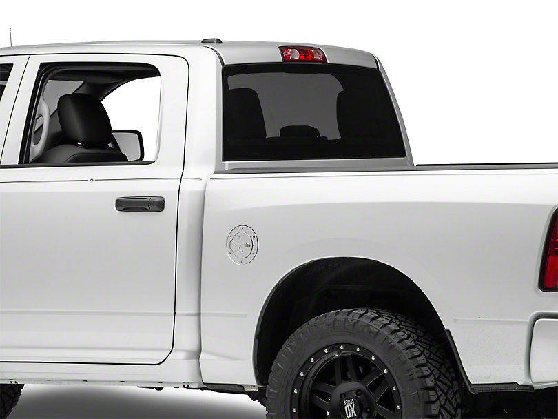 RBP RX-2 Series Locking Fuel Door - Polished (13-18 RAM 1500)