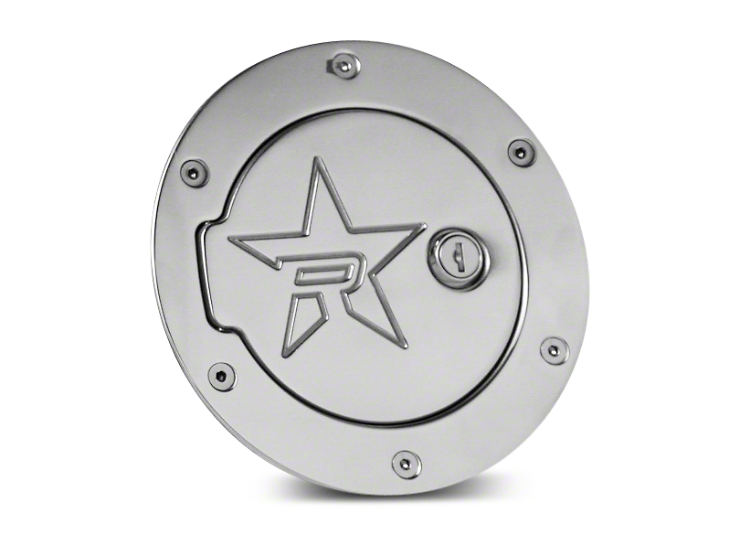 RBP RX-2 Series Locking Fuel Door - Polished (09-12 RAM 1500)