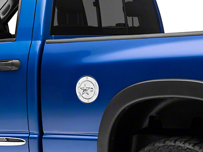 RBP RX-2 Series Locking Fuel Door - Polished (02-08 RAM 1500)