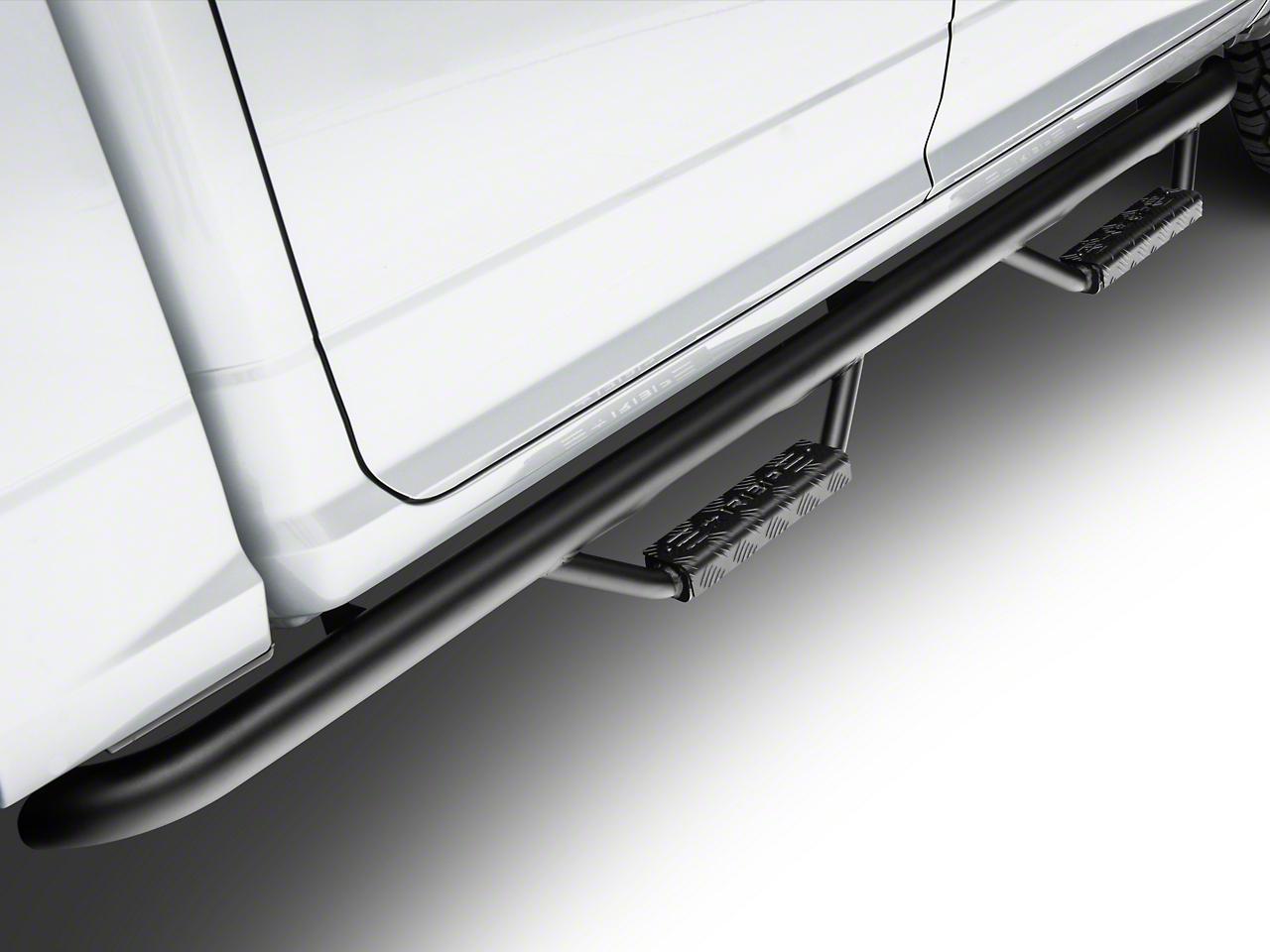 RBP RX-7 Side Step Bars - Black (09-18 RAM 1500 Quad Cab, Crew Cab)