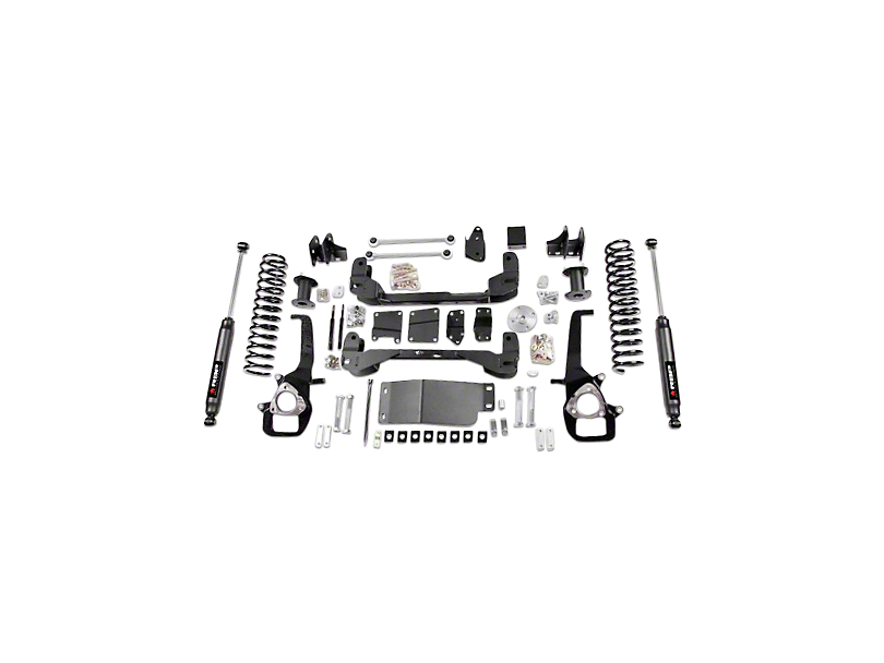 RBP 4 in. Suspension Lift Kit w/ Shocks (09-12 4WD RAM 1500, Excluding TRX4)