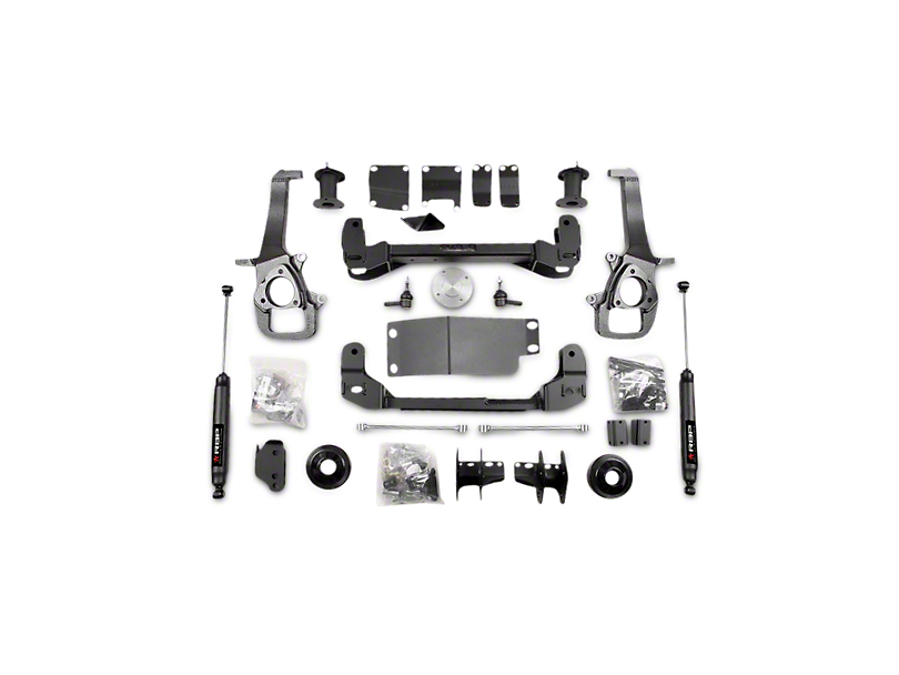 RBP 4 in. Suspension Lift Kit w/ Shocks (13-18 4WD RAM 1500 w/o Air Ride)