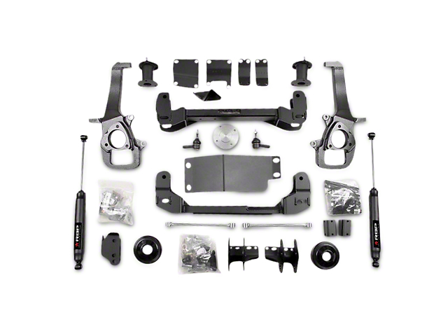 RBP 6 in. Suspension Lift Kit w/ Shocks (13-18 4WD RAM 1500 w/o Air Ride)