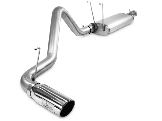 AFE Mach Force XP 3 in. Single Exhaust System - Side Exit (09-18 5.7L RAM 1500 w/o Factory Dual Exhaust)