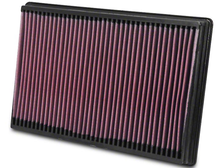 K&N Drop-In Replacement Air Filter (02-19 RAM 1500)