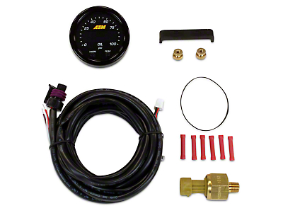 AEM Electronics X-Series Oil Pressure Gauge - Electrical (02-19 RAM 1500)