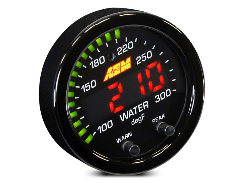 AEM Electronics X-Series Temperature Gauge - Electrical (02-19 RAM 1500)