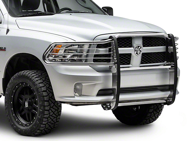 Barricade Grille Guard; Stainless Steel (09-18 RAM 1500, Excluding Rebel)