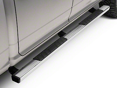 Barricade T4 Side Step Bars - Stainless Steel (09-18 RAM 1500 Quad Cab, Crew Cab)