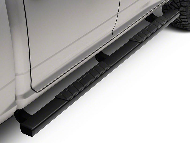 Barricade T4 Side Step Bars - Textured Black (09-18 RAM 1500 Quad Cab, Crew Cab)