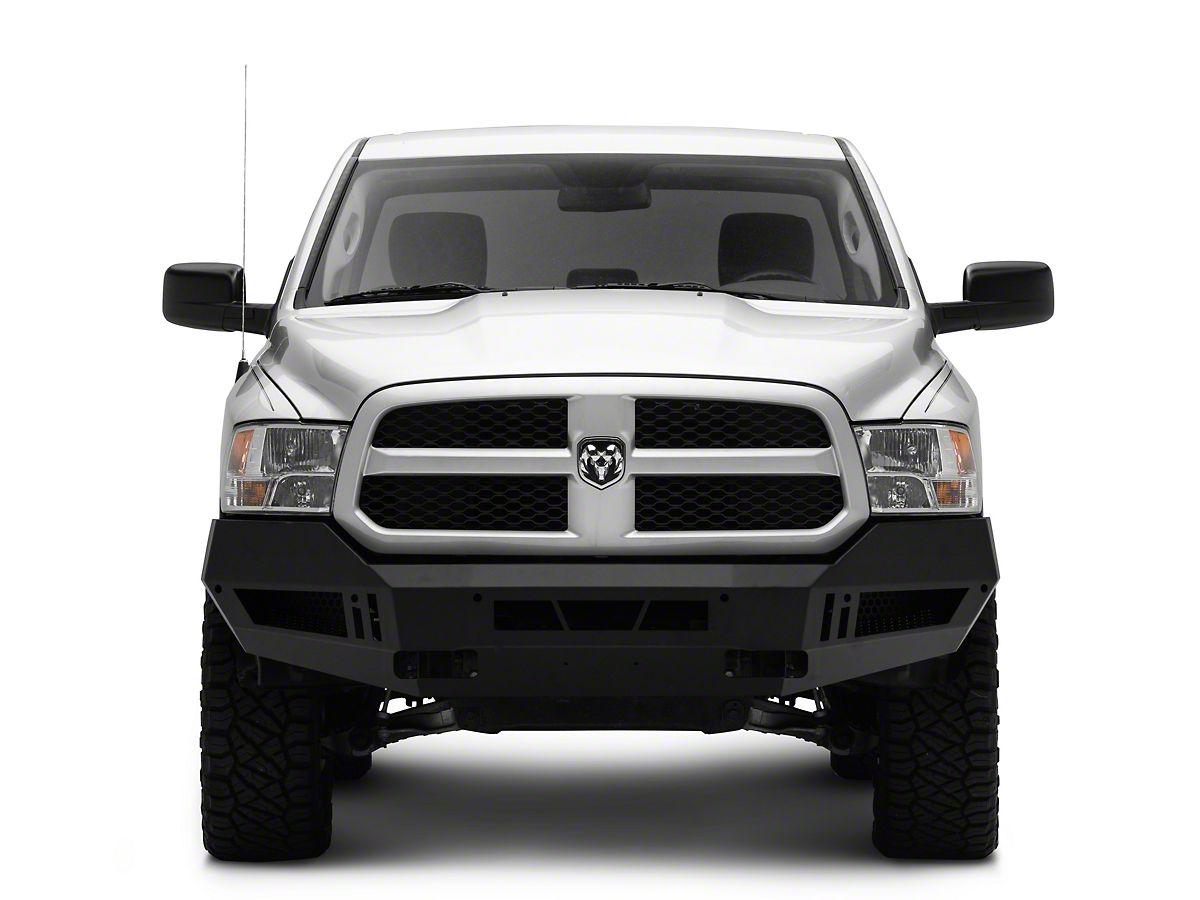 Ram 1500 Bumper >> Barricade Extreme Hd Front Bumper Textured Black 13 18 Ram 1500 Excluding Rebel