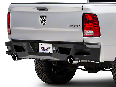 Barricade Extreme HD Rear Bumper - Textured Black (09-18 RAM 1500)