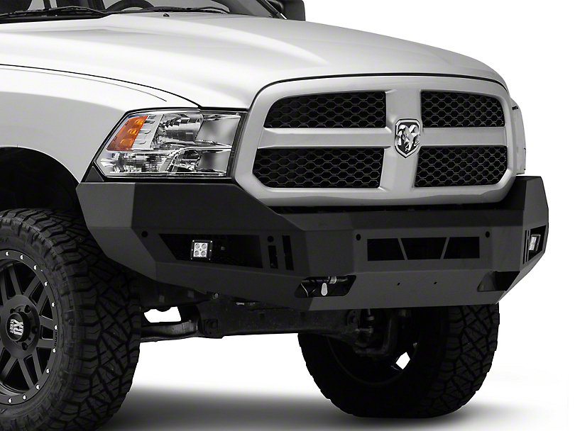Barricade Ram Extreme Hd Front Bumper W Led Fog Lights