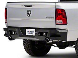 Barricade Extreme HD Rear Bumper w/ LED Spot Lights - Textured Black (09-18 RAM 1500)