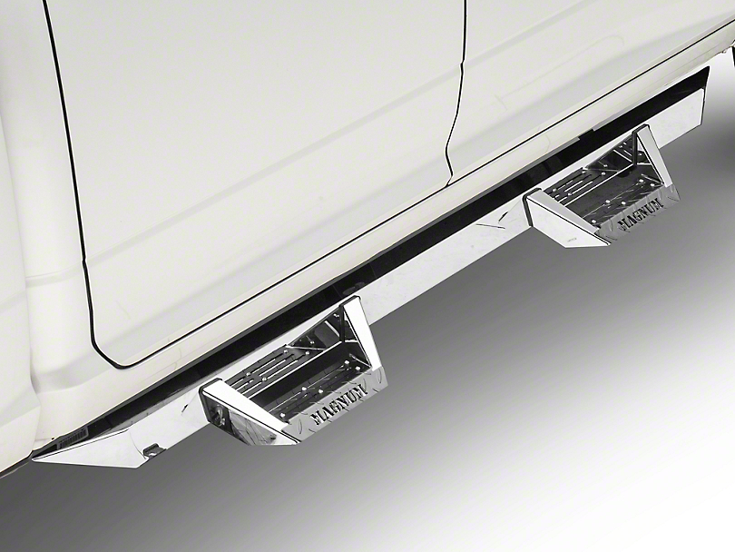 ICI Magnum RT Cab Length Side Step Bars - Stainless Steel (09-18 RAM 1500 Quad Cab, Crew Cab)