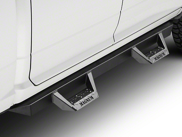 ICI Magnum RT Cab Length Side Step Bars - Black (09-18 RAM 1500 Quad Cab, Crew Cab)