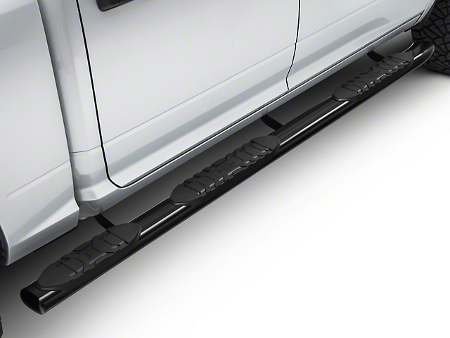5-Inch Extreme Wheel to Wheel Side Step Bars; Black (09-18 RAM 1500 Crew Cab w/ 5.7 ft. Box)