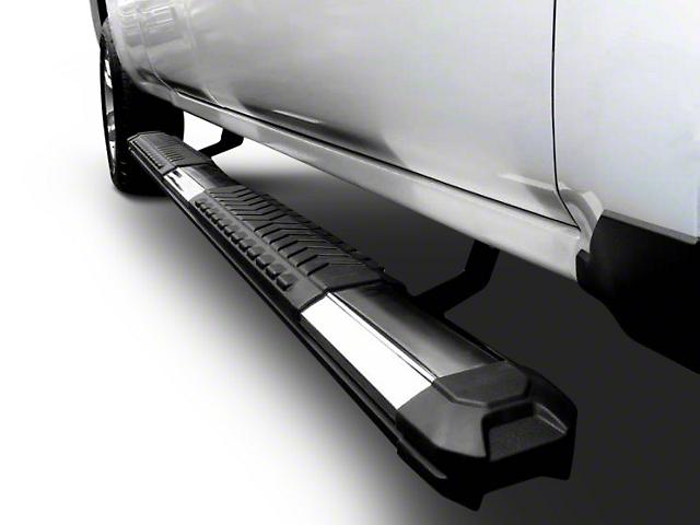 Black Horse Off Road Cutlass Running Boards - Aluminum (02-08 RAM 1500 Quad Cab)