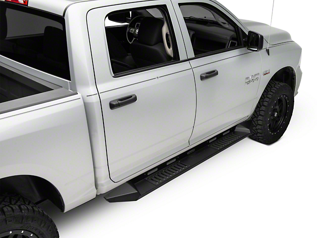 Black Horse Off Road Armour Running Boards 09 18 Ram 1500 Crew