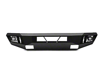 Black Horse Off Road Armour Front HD Bumper w/ 20 in. Light Bar & Dually Lights (13-18 RAM 1500, Excluding Rebel)