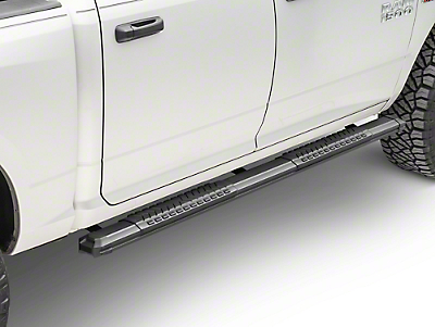 Black Horse Off Road Cutlass Running Boards - Black (09-18 RAM 1500 Quad Cab, Crew Cab)