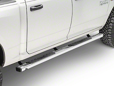 Black Horse Off Road Summit Running Boards - Stainless Steel (09-18 RAM 1500 Quad Cab, Crew Cab)