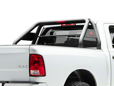 Black Horse Off Road Roll Bar - Black (09-18 RAM 1500 w/o Ram Box)