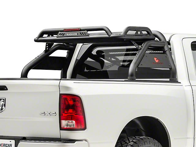 Black Horse Off Road Atlas Roll Bar - Black (09-18 RAM 1500 w/o Ram Box)