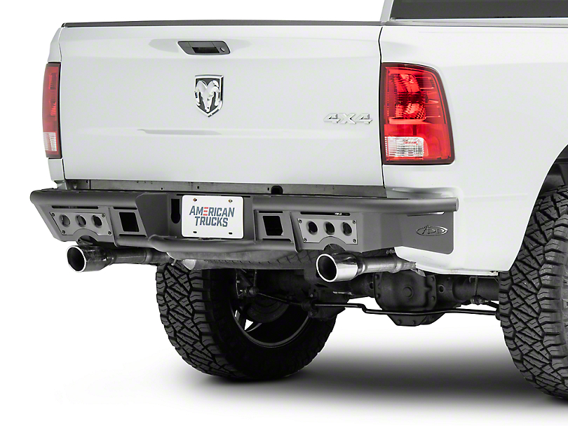 Addictive Desert Designs Stealth R Rear Bumper (09-18 RAM 1500 w/ Factory Dual Exhaust)