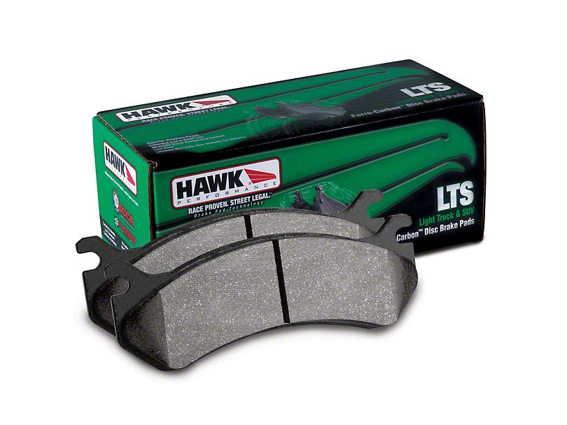 Hawk Performance LTS Brake Pads - Rear Pair (07-08 RAM 1500 Quad Cab; 09-10 RAM 1500)