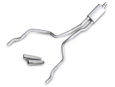 Pypes Violator Dual Exhaust System - Rear Exit (02-05 4.7L RAM 1500)