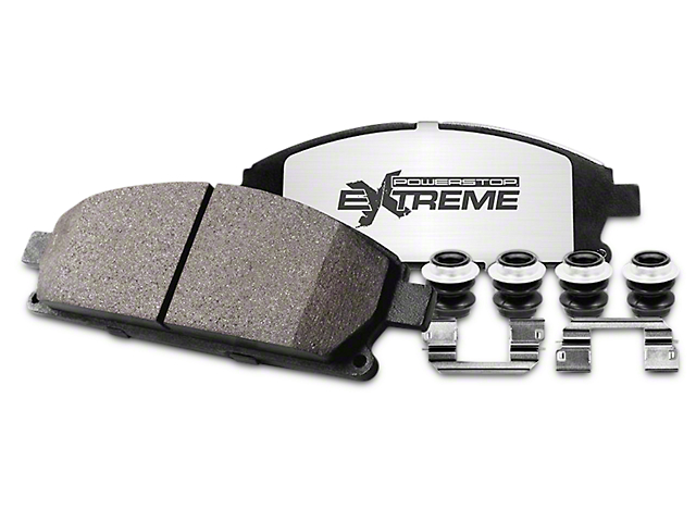 Power Stop Z36 Extreme Truck and Tow Brake Rotor and Pad Kit; Front and Rear (02-18 RAM 1500, Excluding 05-06 SRT-10)