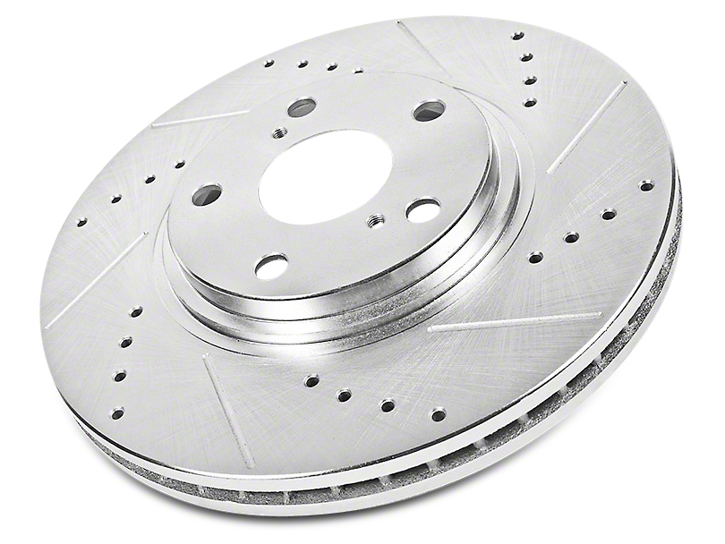 Power Stop Evolution Cross-Drilled & Slotted Rotors - Rear Pair (02-18 RAM 1500, Excluding Mega Cab)