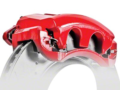 Power Stop Performance Front Brake Calipers - Red (09-18 RAM 1500)