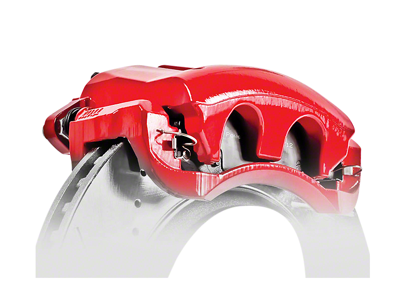 Power Stop Performance Front Brake Calipers - Red (02-18 RAM 1500, Excluding SRT-10)