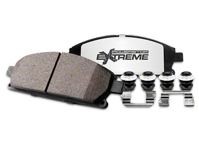 Power Stop Z36 Extreme Truck & Tow Carbon-Ceramic Brake Pads - Rear Pair (02-18 RAM 1500, Excluding SRT-10 & Mega Cab)
