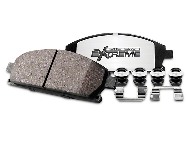 Power Stop Z36 Extreme Truck & Tow Carbon-Ceramic Brake Pads - Rear Pair (02-18 RAM 1500, Excluding SRT-10)