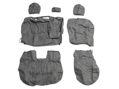 Covercraft SeatSaver 2nd Row Seat Cover - Charcoal (11-18 Quad Cab, Crew Cab w/ Bench Seat)
