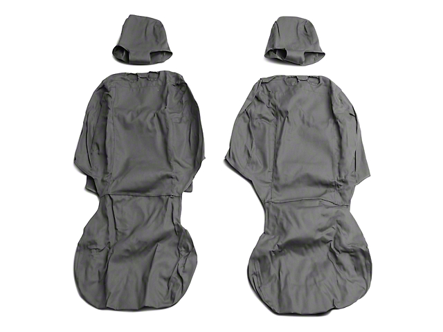 Covercraft SeatSaver Front Row Seat Covers - Charcoal (09-18 RAM 1500 w/ Bucket Seats)