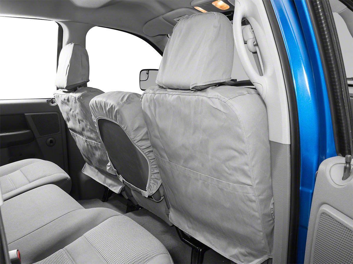 Phenomenal Covercraft Seatsaver Front Row Seat Covers Gray 02 08 Ram 1500 W Bench Seat Dailytribune Chair Design For Home Dailytribuneorg