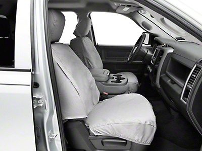 Covercraft Front Row Seat Saver Seat Covers - Gray (09-18 RAM 1500 w/ Bucket Seats)