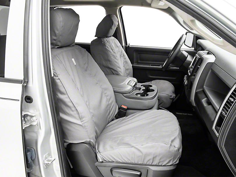 Covercraft Carhartt SeatSaver Front Seat Cover - Gravel (09-18 RAM 1500 w/ Bucket Seats)