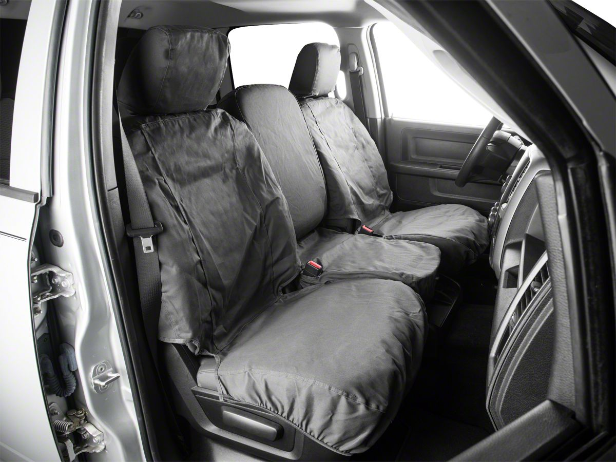 Brilliant Covercraft Seatsaver Front Row Seat Covers Charcoal 09 18 Ram 1500 W Bench Seat Dailytribune Chair Design For Home Dailytribuneorg