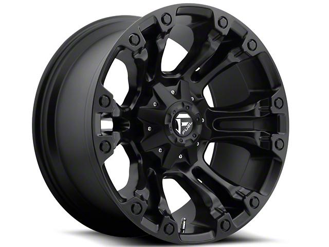 Fuel Wheels Vapor Matte Black 5-Lug Wheel - 20x9 (02-18 RAM 1500, Excluding Mega Cab)