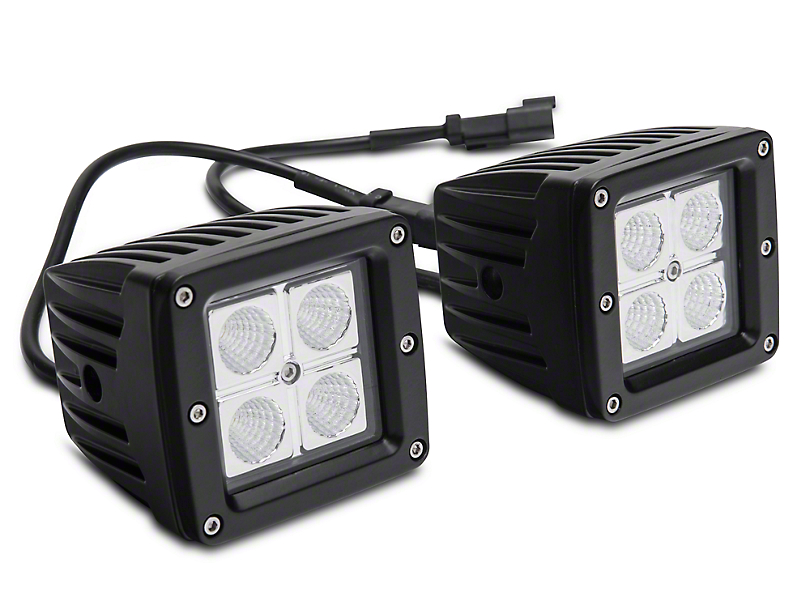 Barricade LED Fog Lights for Barricade Extreme HD Rear Bumpers (02-18 RAM 1500)