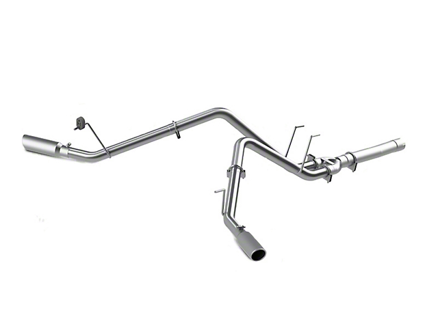 MBRP 2.5 in. Installer Series Filter-Back Dual Exhaust System - Side Exit (14-18 3.0L EcoDiesel RAM 1500)
