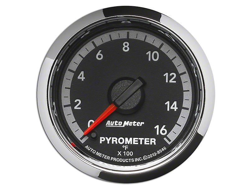 Auto Meter Factory Match Pyrometer Gauge - 0-1600 Degrees - Digital Stepper Motor (09-18 RAM 1500)