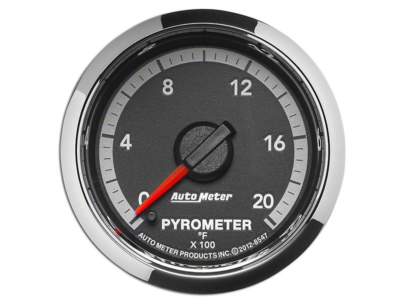 Auto Meter Factory Match Pyrometer Gauge - 0-2000 Degrees - Digital Stepper Motor (09-18 RAM 1500)