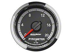 Auto Meter Factory Match Pyrometer Gauge; 0-2000 Degrees; Digital Stepper Motor (09-18 RAM 1500)