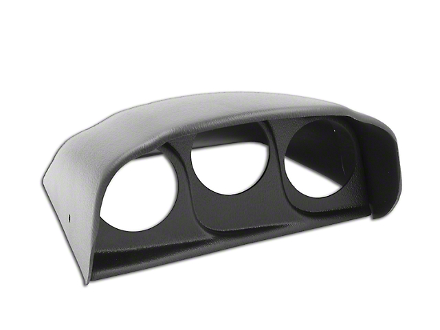 Auto Meter Dash Top Gauge Pod - Triple 2-1/16 in. (03-09 RAM 1500)